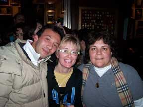 Joseph, Trayc, & Vicky in Rome