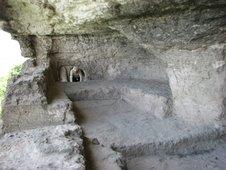 Tipova, biserica rupestra in care s-a cununat Stefan cel Mare cu Maria lui Chir Stefan
