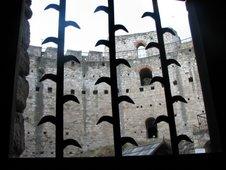 Cetatea Soroca, privire din unul dintre beciuri