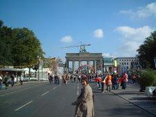 Berlín. Puerta de Brandenburgo