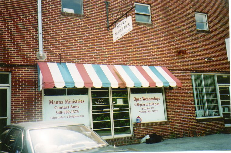 Front of Manna