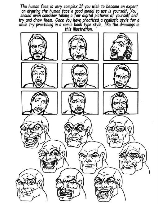 Pauls face 1