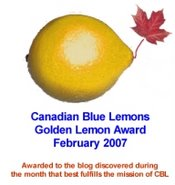 Canadian Blue Lemons