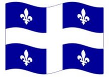 Quebec Provincial Flag