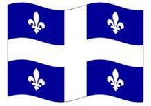 Quebec Provincial Flag