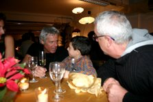 Claudio, Luca ed io, gennaio 2007
