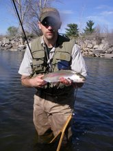 A Wild Boise River Rainbow in Late March
