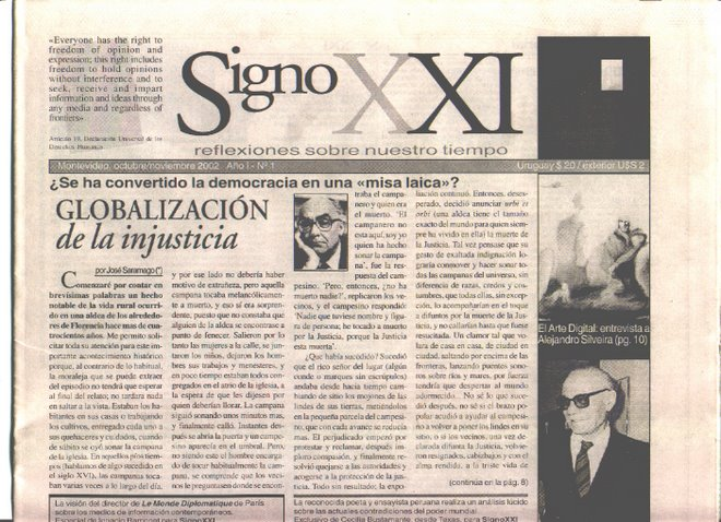 Signo XXI, No. 1