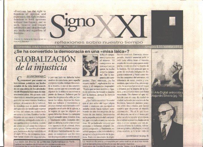 Signo XXI, No. 1