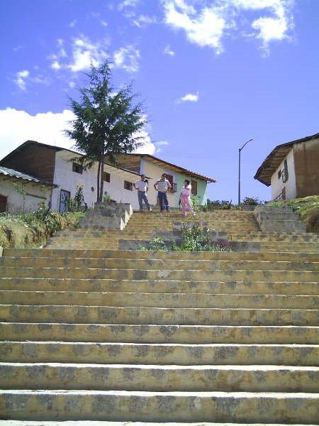 escalinatas a San Isidro