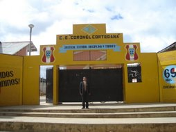 entrada principal del colegio