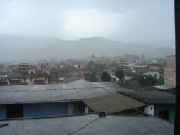 que lluvia!!...