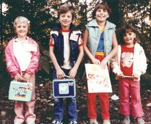 First Day of School - 1981/82