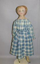 Old Painted Face Cloth Doll