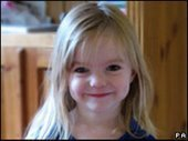 Madeleine McCann - MISSING