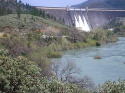 Shasta Dam in No. Calif.