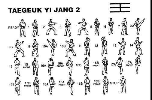 """TAEGUK I YANG - Significa """"TAE"""" que representa la ternura externa con fuerza en su interior"""
