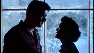 Una imagen de Sólo el cielo lo sabe: me encanta el uso de la luz fría del ventanal a lo largo de esta escena