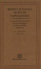 In vari numeri della Rivista Italiana di Studi Napoleonici