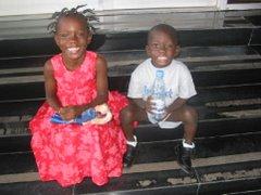 In Liberia, July 2007