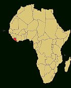 "Liberia is on Africa""s west coast"