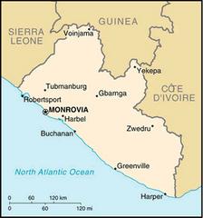 Where is Monrovia?