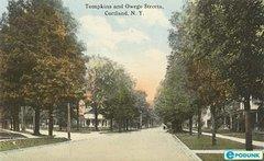 Old Tompkins St Postcard