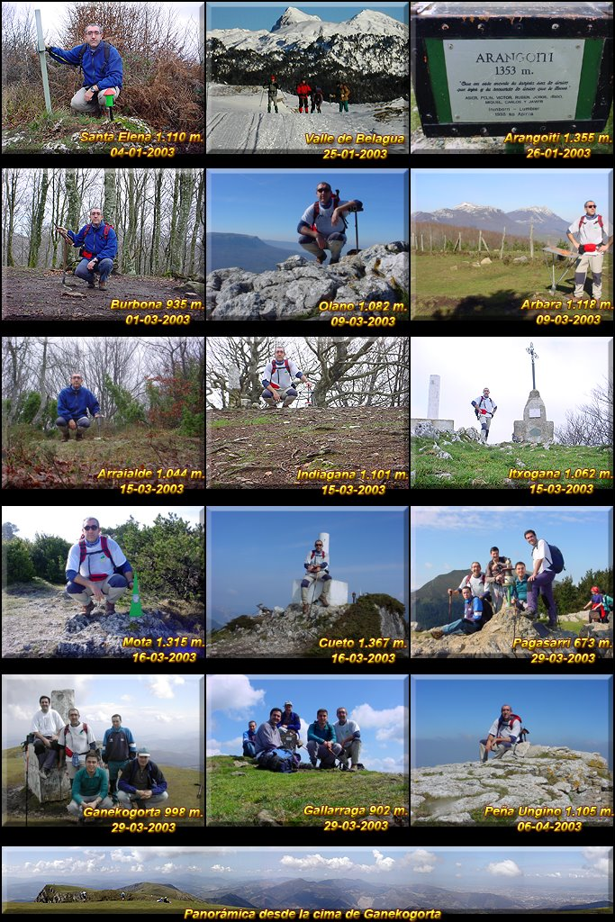 Ascensos realizados en 2003