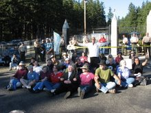 Indian Island Naval Weapons Depot Protest Sept. 23, 2006
