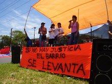 SI NO HAY JUSTICIA EL BARRIO SE LEVANTA