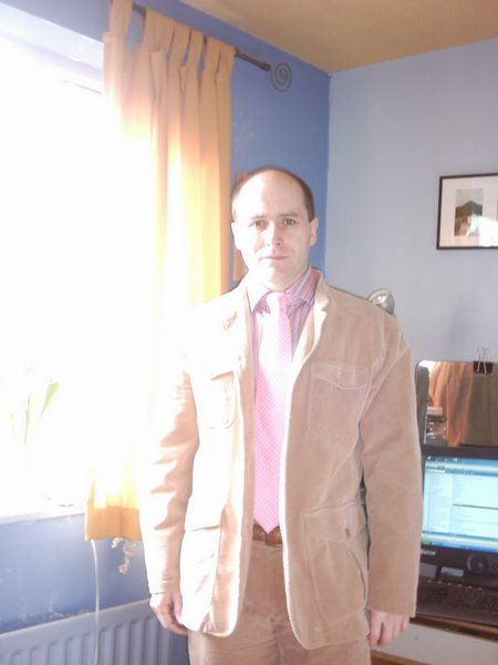 me in my paul smith suit!