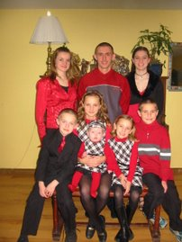My kids Christmas 2005