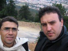 مع المخرج السينمائي طارق ابراهيم