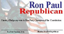 Ron Paul Card Example