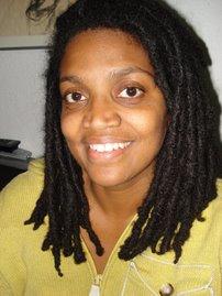 Aisha before the thyroid operation