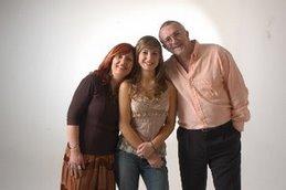 Patricia, Eugenia y Raúl