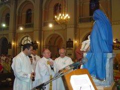 Bendición de la Virgen de la Leche 25.12.2006