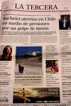 La Expedición en la Prensa Chilena