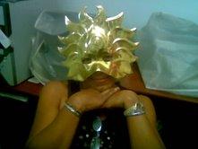 """Una docente en Carnaval. E.B.E """"19 de Julio"""" Guacara"""