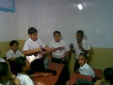 """Una muestra musical improvisada (Alumnos del 5º grado de la U.E.P. Virgen de la Chiquinquirà"""""""