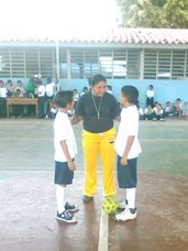 "Copa Amèrica Escolar en la E.B.E. ""19 de julio de Guacara"" (10/07/2007)"