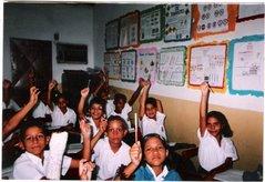 """Alumnos y alumnas del 5º Grado """"U"""" de la U.E.P. """"Virgen de la Chiquinquirà"""" del Municipio Guacara"""