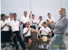 "Parranda escolar de la E.B.E. ""19 de Julio"" de Guacara."