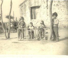 Los primeros nietos de Arístides Gerarduzzi y Delmira Ferreyra