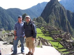 Me and My Dad in Machu Picchu