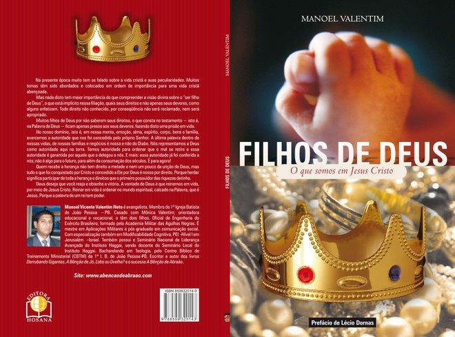 """COMPRE AGORA O LIVRO VIRTUAL """"FILHOS DE DEUS"""""""