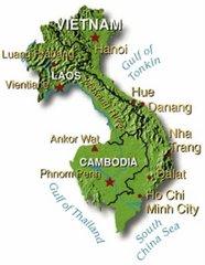 Karte: Vietnam
