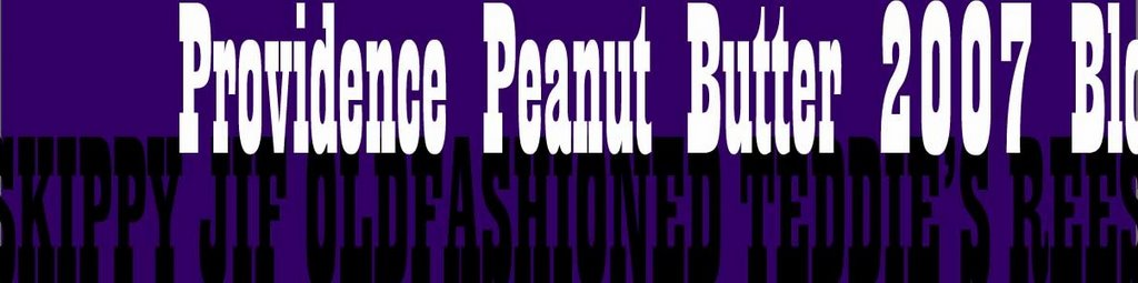 Providence Peanut Butter 2007