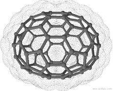 [5,6]fullerene-C78-D3h(II), Fullereno con 78 átomos de carbono