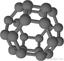 [4,6]fullerene-C24-Oh, Fullereno con 24 átomos de carbono